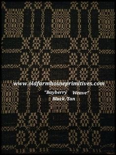 Bayberry Weave Black And Tan