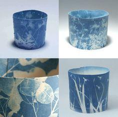 Deirdre Hawthorne , an artist residing in Northern Ireland, creates exquisite cyanotypes on paper as well as ceramics. Sir John Herschel (...