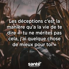 Je nai eu que des déceptions. Positive Mind, Positive Attitude, Best Quotes, Love Quotes, Inspirational Quotes, Quotes En Espanol, French Quotes, Positive Affirmations, Beautiful Words