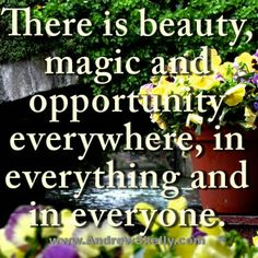 Find the magic in all you do