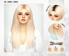 adelorena Hair Recolors for The Sims 4 by Miss Paraply