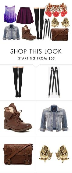 """""""Rylie"""" by lawnayy ❤ liked on Polyvore featuring Tamara Mellon, Yves Saint Laurent, Rock & Candy, maurices, VIPARO, Trifari and Mawi"""