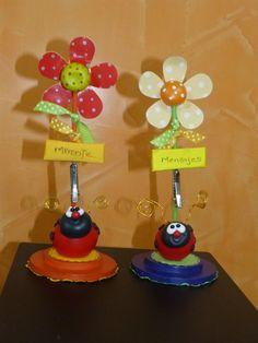 Lindos detalles  -Mariquitas- en porcelana fría  para regalar, vender, r...