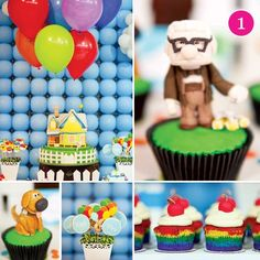 disney pixars up theme birthday party for kids