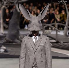 If It's Hip, It's Here (Archives): Hats Off To Thom Browne and Stephen Jones For…