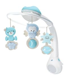 Look at this 3-in-1 Projector Musical Mobile on #zulily today!