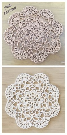 Most recent Photo Crochet Doilies easy Popular Easy Mini Cluster Lace Doily Free Crochet Patterns Crochet Pattern Free, Free Crochet Doily Patterns, Crochet Designs, Knitting Patterns, Crochet Tablecloth Pattern, Free Knitting, Crochet Doily Diagram, Vogue Knitting, All Free Crochet