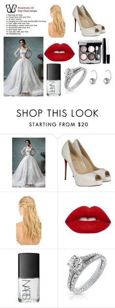 """""""Day 5"""" by thompame on Polyvore featuring Christian Louboutin, Pluie, Lime Crime, Chanel, NARS Cosmetics, Bling Jewelry and Marc Jacobs"""