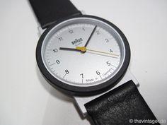 Braun AW10. Design by Dietrich Lubs (under Dieter Rams). Year: 1989