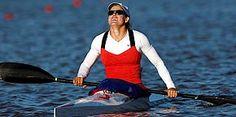 Photo 27: July 29, 2012 USA Kayaker paddles toward gold 144X290