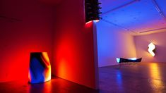 Artist Daniel Canogar visualizes real-time environmental shifts with LED sculptures - The Verge