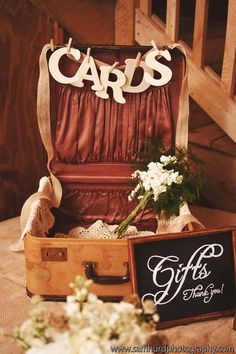 Really cute idea for your wedding cards! Weddings and Events – Vineyard Weddings, Barn Weddings, Catered Events, Group Tours