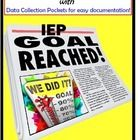 Special Education IEP Goal Data Sheets for Teachers & Students: Tracking IEP Goal data has never been easier or more convenient.  Choose from m...