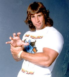 Kerry Von Erich - I had a crush on him. Met him months before he passed in 1993. He was in WWE briefly lol