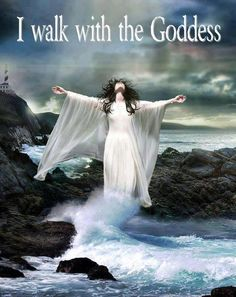 In every cell be there a lacing of the Mother Energy..In Wo/Man..the Goddess Lives..Those who accept Her readily Walk along side the Blessed Divine..there is no need to follow Behind.. for The Goddess is Herself and she is part of You...♥ Love ♥