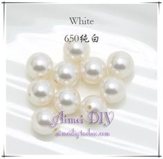 8mm Austrian crystal elements diy handmade cloth beaded hair ornaments scattered crystal pearl beads 5810 - Taobao