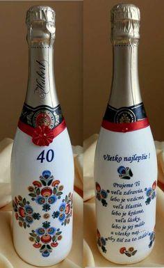 Decoupage, Diy And Crafts, Folk, Bottle, Creativity, Ideas, Decorated Bottles, Popular, Flask