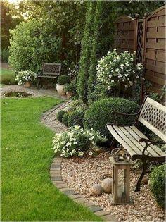 30 Lawn Edging Designs for You to Pick - DIY Garten Landschaftsbau Garden Shed Diy, Backyard Garden Design, Garden Ideas, Patio Ideas, Backyard Ideas, Garden Art, Front Yard Landscaping, Backyard Landscaping, Landscaping Ideas