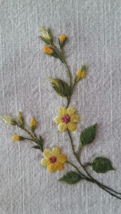 Embroidery Plants Definition off Embroidery Patterns Step By Step past Embroidery Thread Holder so Embroidery Stitches Handiworks. Floral Embroidery Patterns, Crewel Embroidery Kits, Embroidery Flowers Pattern, Simple Embroidery, Japanese Embroidery, Embroidery Needles, Embroidery Designs, Embroidery Books, Ribbon Embroidery