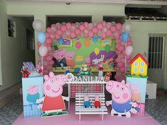 #Decoração #PeppaPig confira mais alguns trabalhos acessando nossa site ou pagina no facebook www.arteemfotoefestas.com