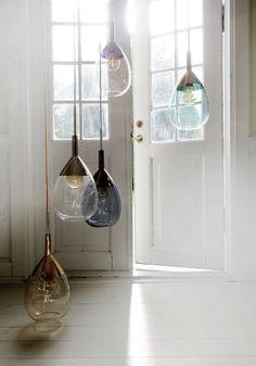 Lampa wisząca Lute I od Ebb&Flow