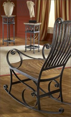 Hand Forged Rocking Chair