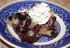 #30DOC Day 22: Blueberry Pudding Cake