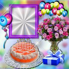 Enhance your photos with Kimi templates. Happy Birthday Template, Happy Birthday Frame, Birthday Frames, Beautiful Birthday Cakes, Happy Birthday Pictures, Happy Birthday Messages, Happy Birthday Greetings, Advance Happy Birthday, Happy Birthday Celebration