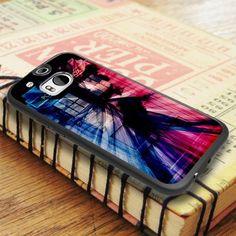 Tardis Smoke Art Colour HTC One M8 Case