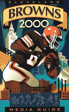 Cleveland Browns 2000 Media Guide cover art