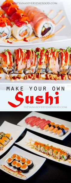 How To Make Sushi - Tatyanas Everyday Food