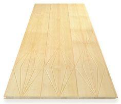 KUVIO panels by Karell Design. Material Finnish pine.