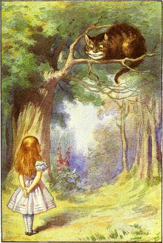 John Tenniel illustration from Alice In Wonderland.