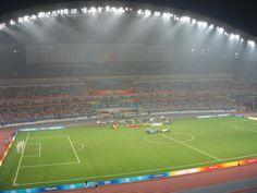 olympic football in shanghai