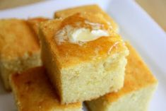 2 eggs 1 c. butter (melted) 2/3 c. sugar 1 c. buttermilk ½ t. baking soda 1 c. corn meal 1 c. flour ½ t. salt Instructions: Preheat oven to 375 degrees. In a bowl combine the eggs, butter, sugar, buttermilk, and baking soda. Add the corn meal, flour, and salt and mix well. Combine all together. Spray an 8X8 pan. Bake at 375 degrees for 30 minutes.