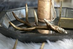 Decorative Antler - Gold – The Arrow's Nest