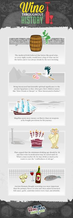 Little known facts about wine throughout history (with a little humorous spin)