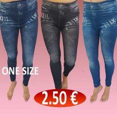 e54106cf0698 Χονδρική πώληση γυναικεία ρούχα owner. Ακολουθήστε. Γυναικεία κολάν σε τζην  αποχρώσεις 3 διάφορα χρώματα Μεγέθη ONE SIZ.