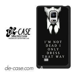 My Chemical Romance Lyrics DEAL-7536 Samsung Phonecase Cover For Samsung Galaxy Note Edge