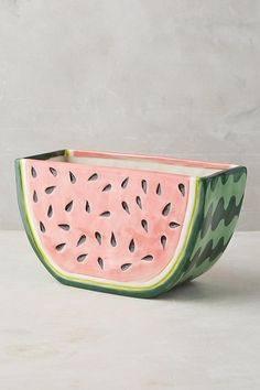 Danielle Kroll Watermelon Fruit Pot