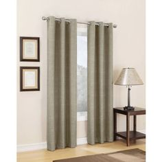 Sun Zero Winslow Thermal Lined Single Curtain Panel. I'm liking this shade of purple. Thermal Curtains, Lined Curtains, Grommet Curtains, Window Curtains, Blackout Panels, Candy Apple Red, Room Darkening, Window Treatments