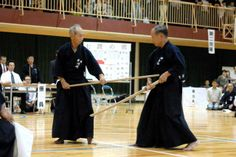 35th Jodo Taikai was held at Sugamo-Gakuen Gimunashion on Oct 19. 2008 ...