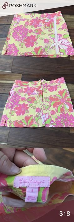 Lilly Pulitzer skorts Good condition no tears or stains Lilly Pulitzer Shorts Skorts