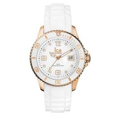 Ice Watch Ice Style White Medium Ref. Ice Watch, Star Watch, Rose Gold Watches, Watch Brands, Fashion Watches, Rolex Watches, Bracelet Watch, Gifts For Her, Perfume