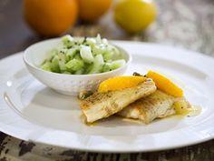 Бон Апети Риба с цитрусов сос и каперси
