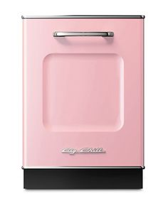 Big Chill's Retro Dishwasher has a stamped metal body, authentic chrome trim, stainless steel interior and is energy efficient. Choose from a range of standard colors or 200 custom colors.
