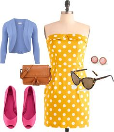 """Diva retro chic"" by anakari on Polyvore"