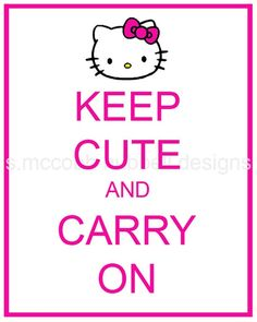 ☀ Always Keep Cute Like Hello Kitty !! ☀