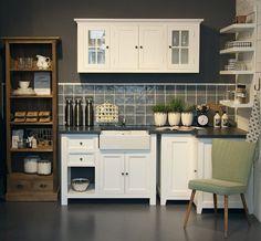 Landhausküche #interior #einrihctung #ideen #landhausstil #landhaus #wohnen #living #dekoration #decoration #küche #Landhausküche Foto: Exedra Möbel & Dekoration