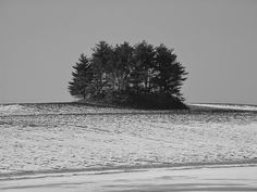 Adena burial mound located outside of Circleville, Ohio in Pickaway County,